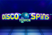 Disco-spins-touch